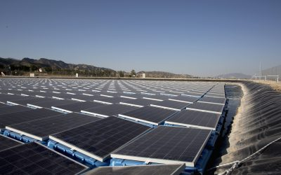 Benefits of a floating solar plant