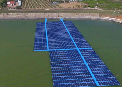 Comunidad de Regantes de Mérida. Solar Flotante