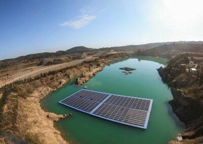 Agriculture – Direct solar pumping – C.R. Real de Montroi (Spain)