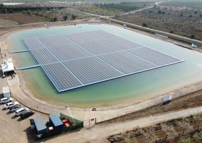 Agriculture – Direct solar pumping – C.R. Lliria (Spain)
